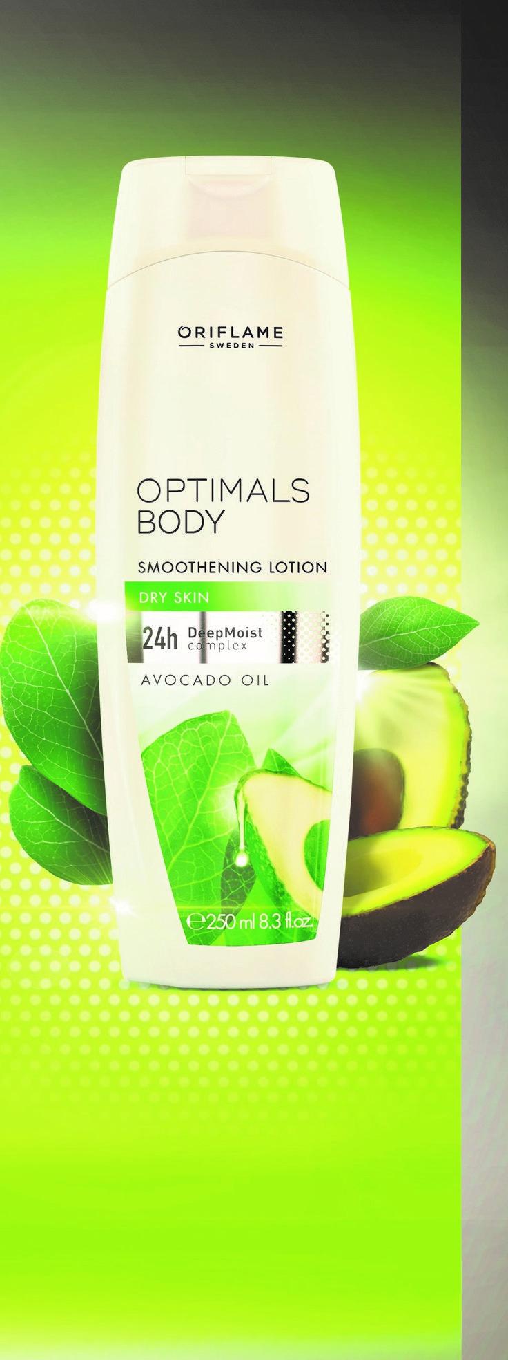 Das beste Geschenk für Deine Haut: Optimals Body von Oriflame mit Avocado Öl.  Das nährstoffreiche Avocado-Öl kann das wahre Wunder bewirken, überzeuge Dich selbst!!! Demnächst bei #OriflameGermany #OptimalsBody #Avocado #Schönheit #Hautpflege #Körperpflege #Beauty #Sommer