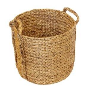 Water Hyacinth Platted Weave basket - Large: Amazon.co.uk: Kitchen & Home