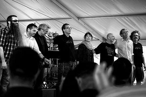 John Zorn; Dave Douglas; Greg Cohen; Joey Baron; Mark Feldman; Sylvie Courvoisier; Erik Friedlander; Jamie Saft; Trevor Dunn; Marc Ribot; Kenny Wollesen; Ikue Mori; Cyro Baptista