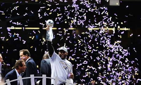 Baltimore Ravens win Super Bowl 47