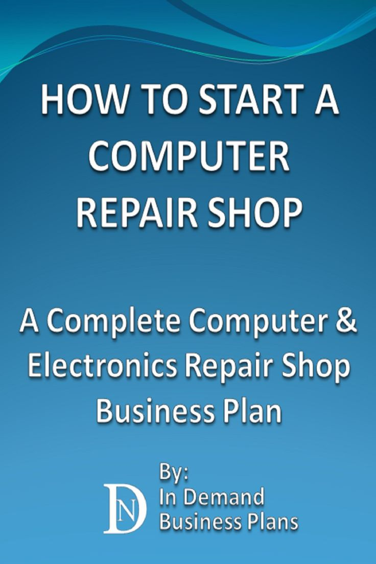 Electronics Repair Business Plan