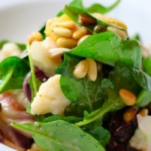 Cauliflower-Radicchio Salad | Everything's So Green | Pinterest