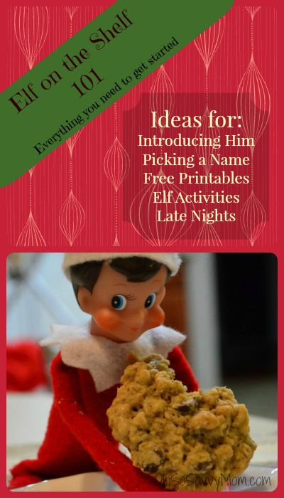 Elf on the Shelf 101, Ideas for introducing and picking a name for your Elf on…
