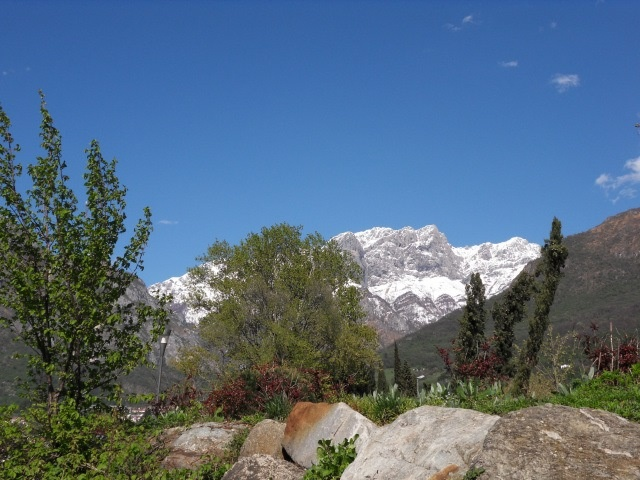 Grigna Mountain from Mandello del Lario