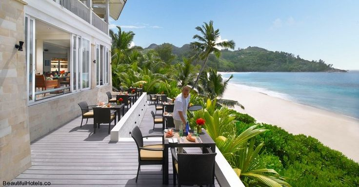 Banyan Tree Seychelles (Mahe, Seychelles) - Au Jardin d'Epices Restaurant outdoor terrace
