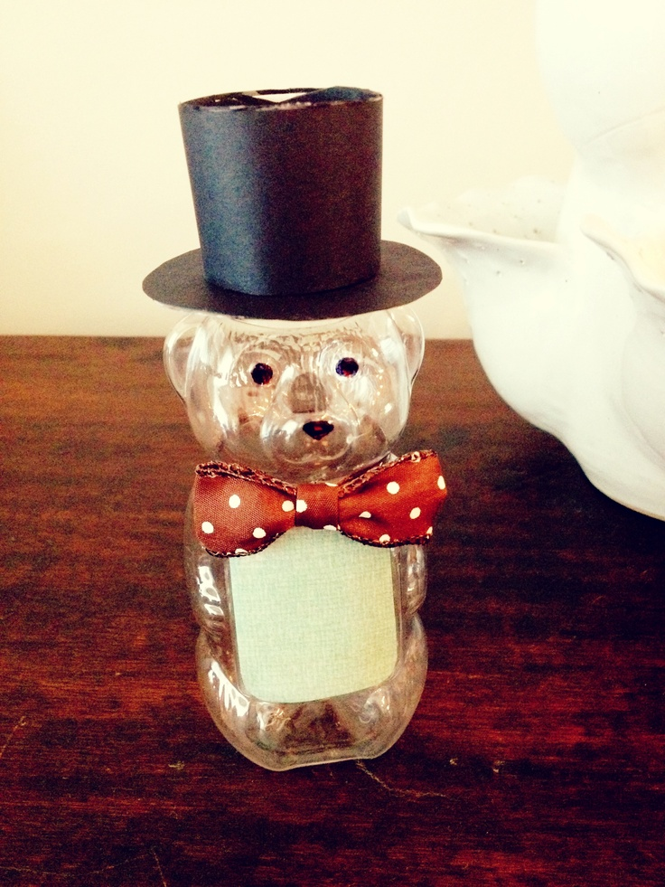 26 Best Images About Honey Bear Bottle Crafts On Pinterest