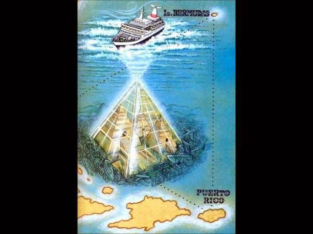 Cientistas americanos e franceses descobrem uma pirâmide gigante no Triângulo das Bermudas ~ Sempre Questione