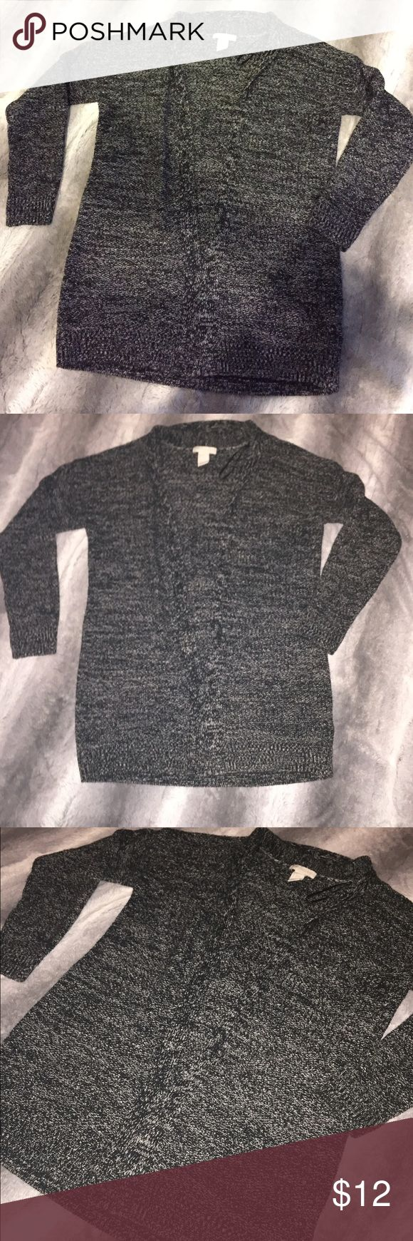 Cute cardigan Black and white cardigan H&M Sweaters Cardigans