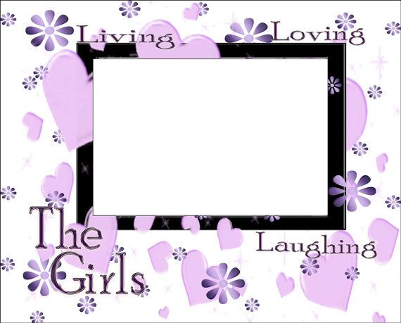 8x10 the girls best friends picture frame by sapphirecustomphotos 1500
