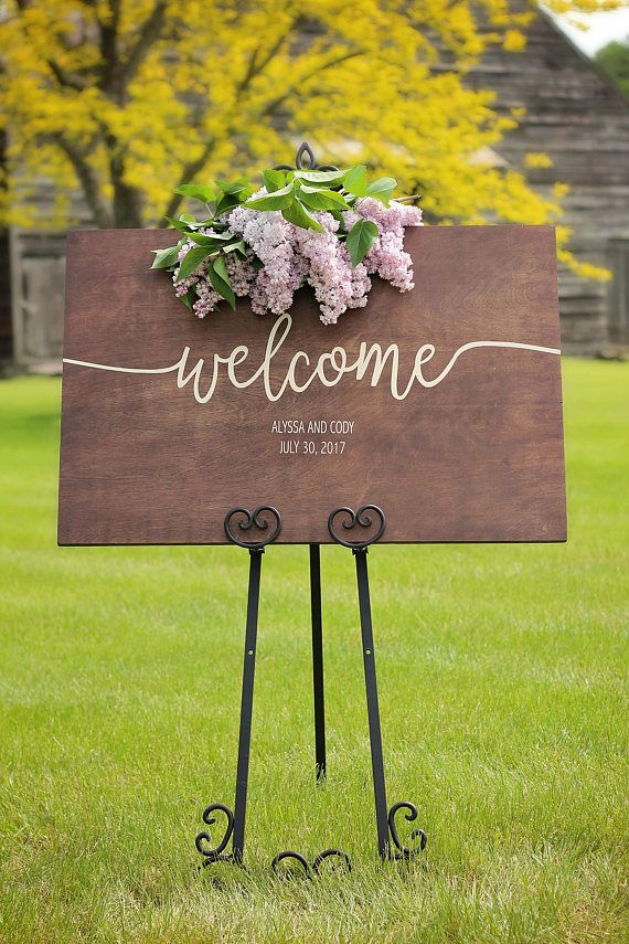 Wedding Signs | Wedding Welcome Sign | Wedding Signage | Personalized Wedding Sign | Wedding Ceremony | Welcome Sign | Rustic Wedding Decor