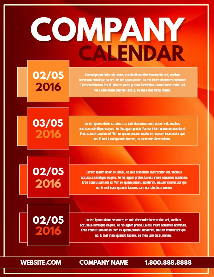 Calendar Poster Maker : Best small business flyer templates images on pinterest