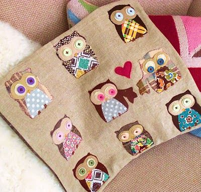 cute owl applique - for Sissy