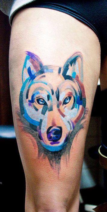 41 best images about mejores tatuajes de lobos on - Tatuajes de pared ...