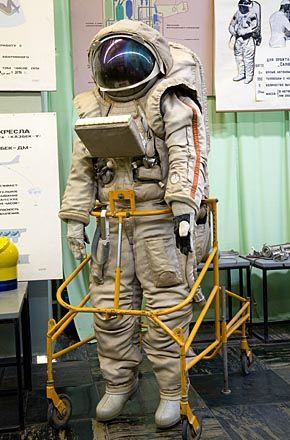 Krechet Spacesuit with a built-in life support system developed for soviet manned lunar program