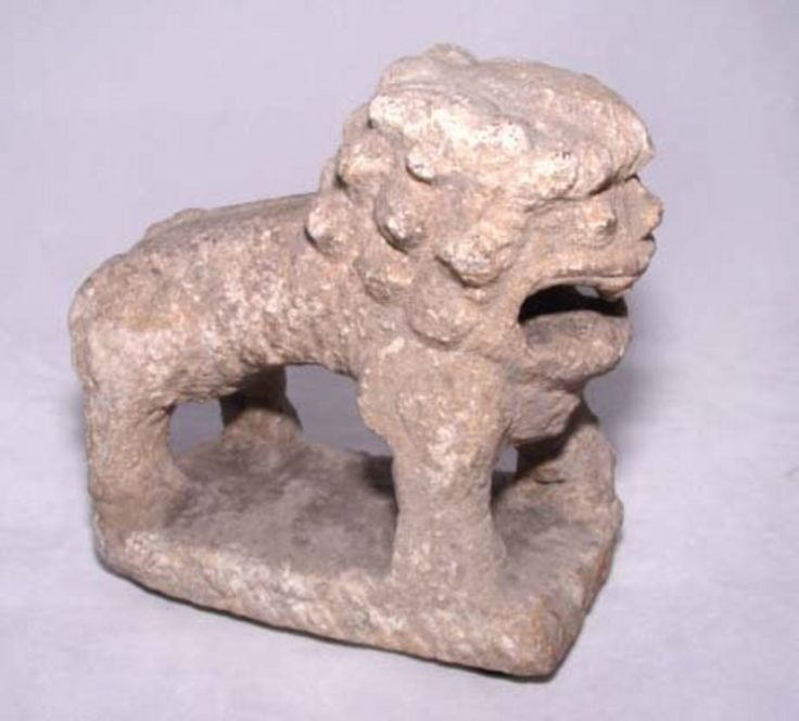 Chinese Han Stone Lion Weight - 206BC - 220AD For Sale | Antiques.com | Classifieds Price: $825.00