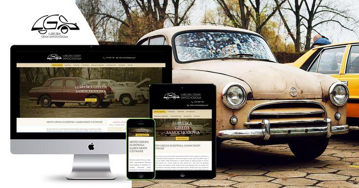 Nasza nowa realizacja - Strona WWW  Lubelskiej Giełdy Samochodowej. Funkcjonalna, responsywna, przejrzysta ✌