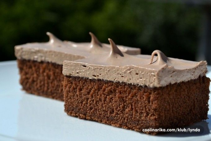 Šťavnatý koláček s dokonalým čoko krémem