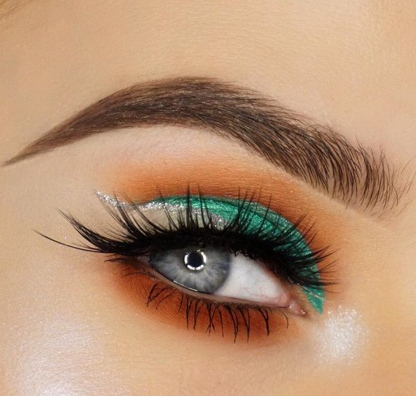 If you have short and rare lashes, you can upgrade them or enrich with artificial eyelashes that can be found in any salon.
