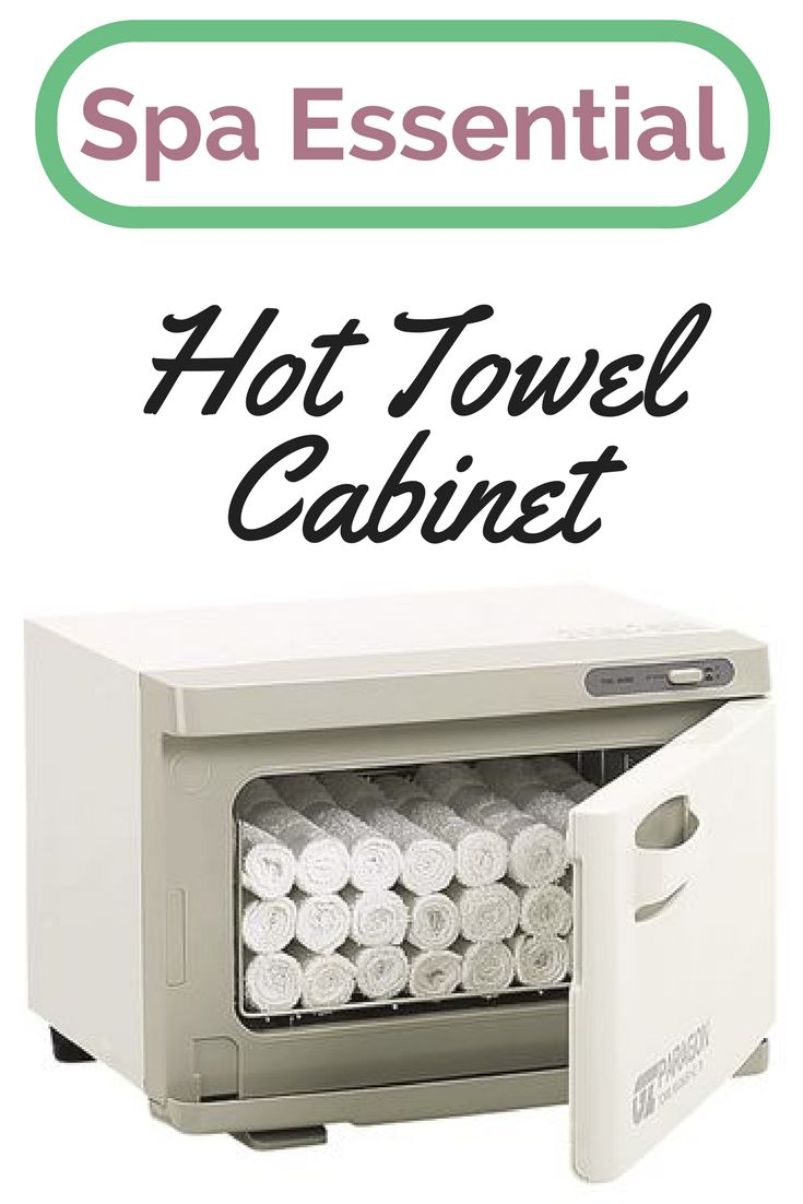 Every #esthetician, #nailtech, #massagetherapist needs and hot towel cabinet This Hot Towel Cabinet is designed to hold 24 Facial Towels, and features a double-walled insulated door and rust-proof aluminum interior. Warm, moist towels add an extra sense of comfort when performing facials, massages, and shaves. Towels heat up quickly and have a therapeutic effect by relaxing the senses.