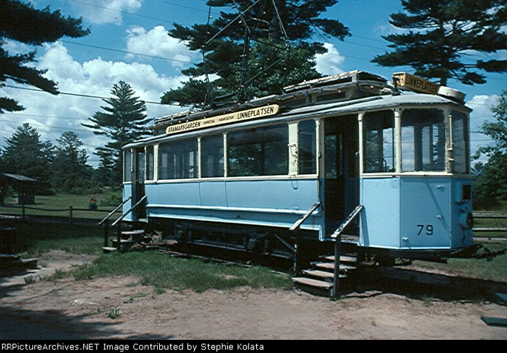 Gothenburg #trolley 79 at Edaville RR before it came to TMNY.
