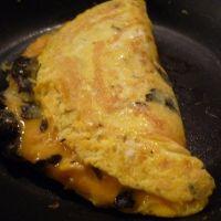 Omelette baveuse aux truffes