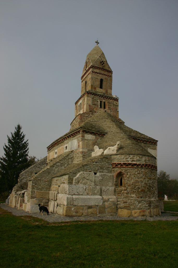 Medieval church (13th century) of Densuş (Demsus, Demsdorf) was built from roman stones of Ulpia Traiana. The oldest orthodox church in Transylvania