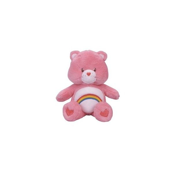 """Amazon.com: Cheer Bear 12"""" Plush Toy Figure: Toys & Games ❤ liked on Polyvore featuring fillers, toys, pink, items and kawaii"""
