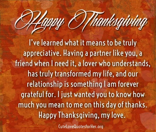 gratitude love quotes for thanksgiving day