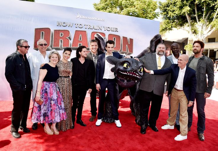 Bonnie Arnold Photos: 'How to Train Your Dragon 2' Premieres in LA