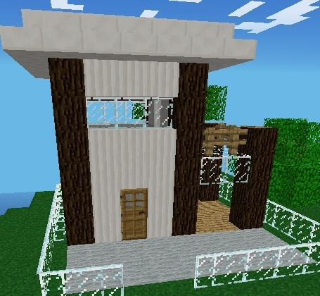 modern minecraft pe house finn 39 s board pinterest