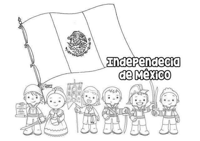 Tu Tarea Portada De La Independencia De Mexico Septiembre Preescolar Manualidades 15 De Septiembre Para Ninos Trabajos Para Preescolar