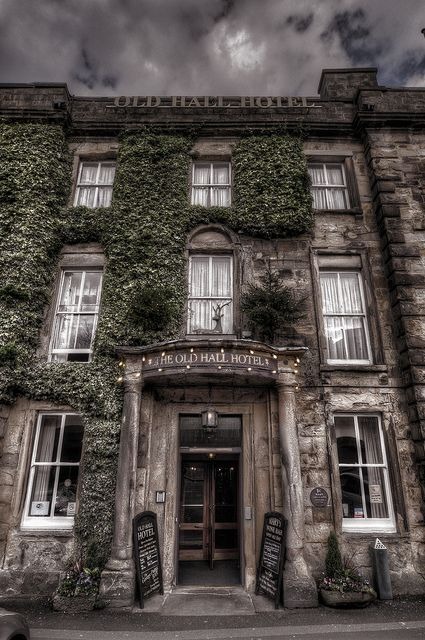 Old Hall Hotel, Derbyshire, is reputed to be the oldest hotel in England as s well as its long history and connections to Mary Queen of Scots.