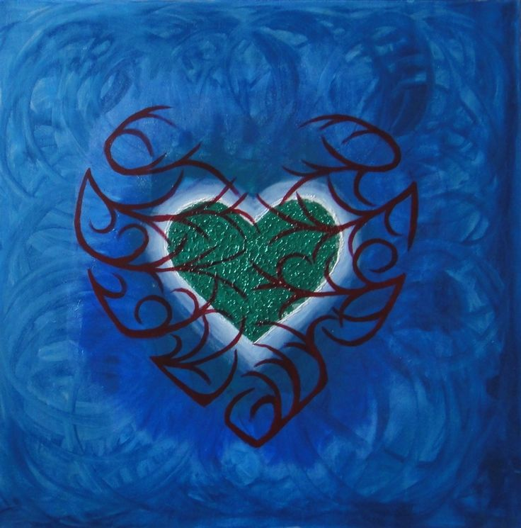 'Message' - the power of Love and pure heart.. there's also a message about something much bigger, stronger and even more beautiful.. The cover is beautiful and very creative, but there is still the core, which is hard to be described by words.. full of light and healing energy.. Medium: Acrylic on Canvas Size: 81,2 x 81,2 cm ( 32''x 32'')