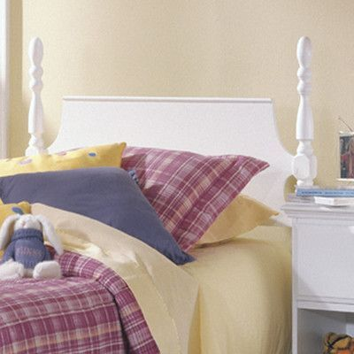 Carolina Furniture Works, Inc. Carolina Cottage Twin Poster Headboard Size:  Twin