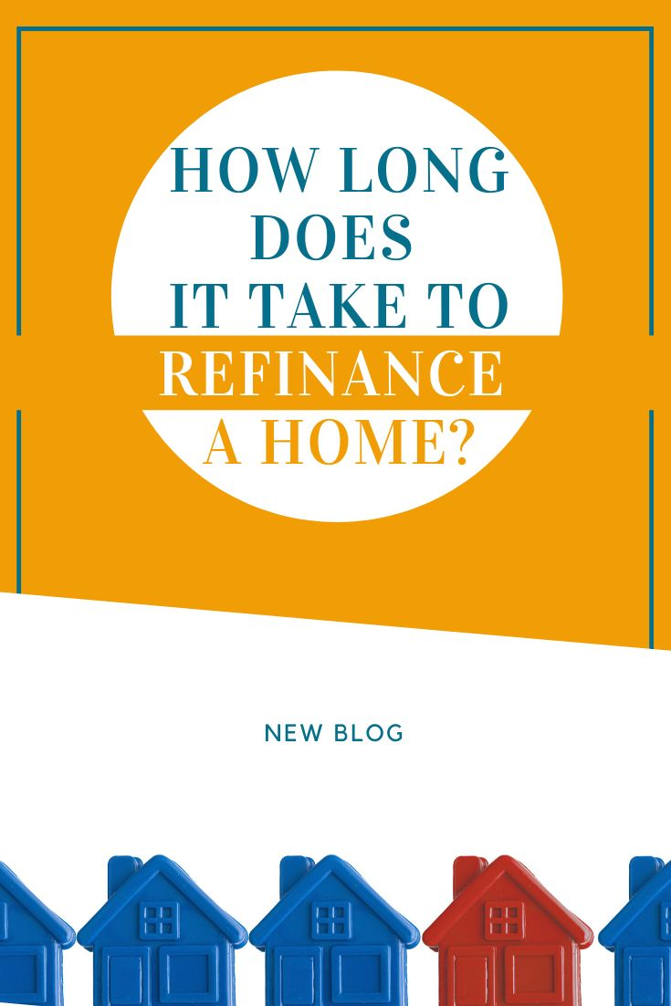How long does it take to refinance a home in 2020 home