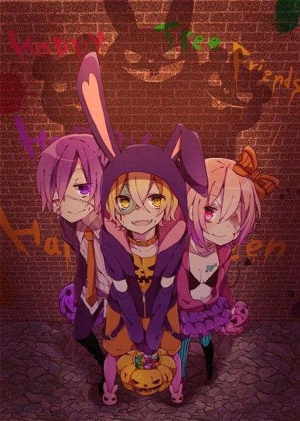 Happy Tree Friends Halloween Anime