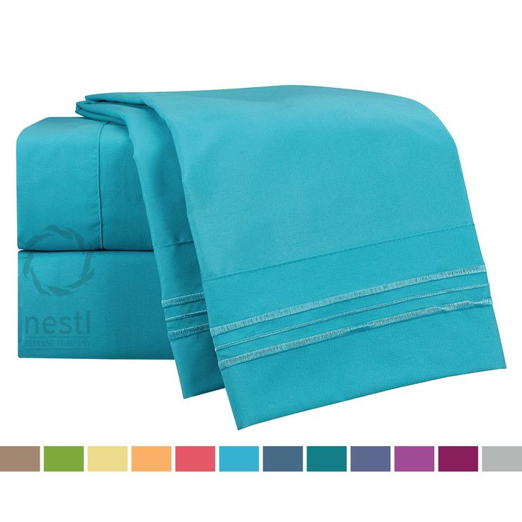 Teal Bedding and Curtain Sets Sale | Ease Bedding with Style