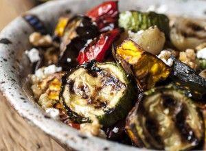 Receita Dedo de Moça: Salada de legumes grelhados