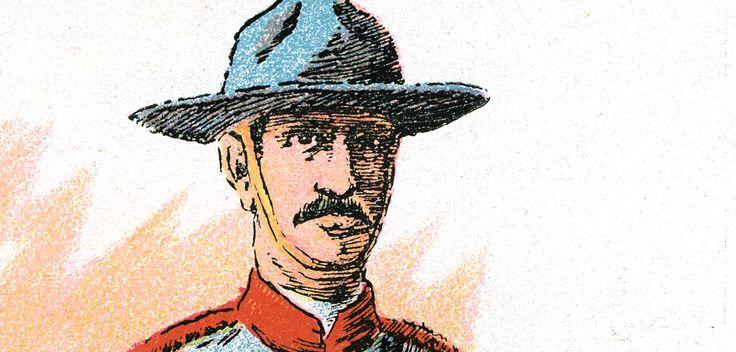 Soldado canadiense. Si quieres saber más, visita: http://www.fundacioaurora.com/isladevancouver/?portfolio=soldados