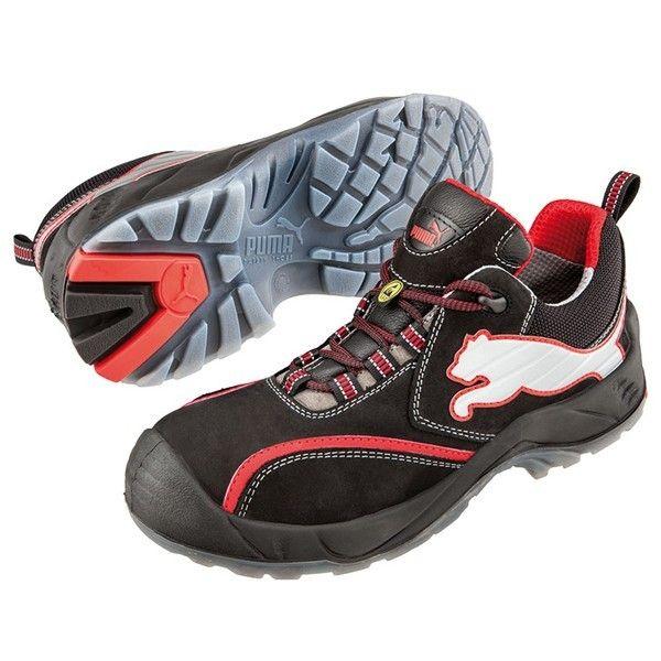 Puma S3 Schuhe metallfrei - GenXtreme - #atmungsaktiv #flexibler #durchtrittschutz #metallfrei #kunststoffkappe #safetyshoes #genxtreme #workwear #and #outdoor