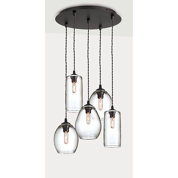 Swift Hand N Gl Pendant Lights
