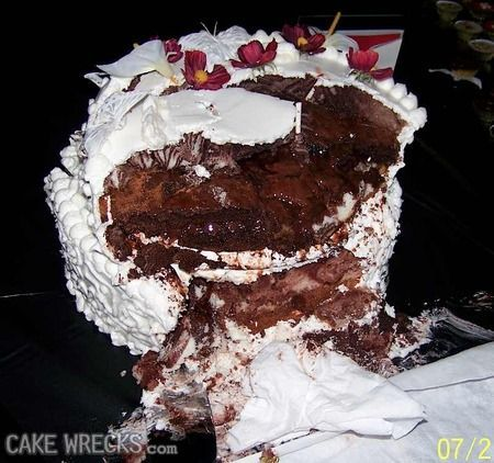 49 Best Ugly Cakes Images On Pinterest Cake Wrecks
