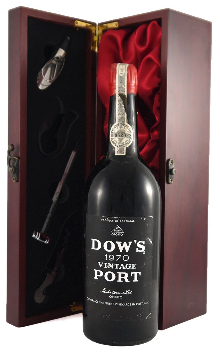 1970 Dow #Vintage #Port  ...fragrant and spicy with a hot dry finish.