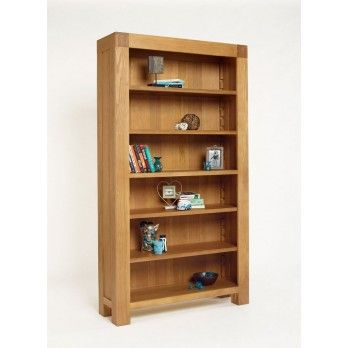 Santana Blonde Oak Full Bookcase