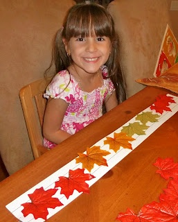 leaf themed math - patterning, counting and number recognition, addition and more