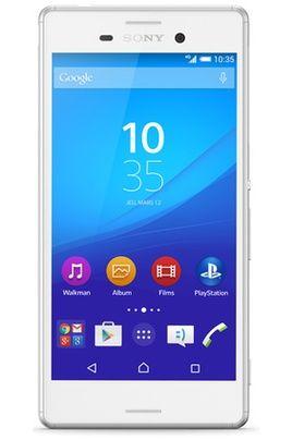 Mobile nu Sony XPERIA M4 AQUA BLANC pas cher prix Smartphone Darty 229.90 €