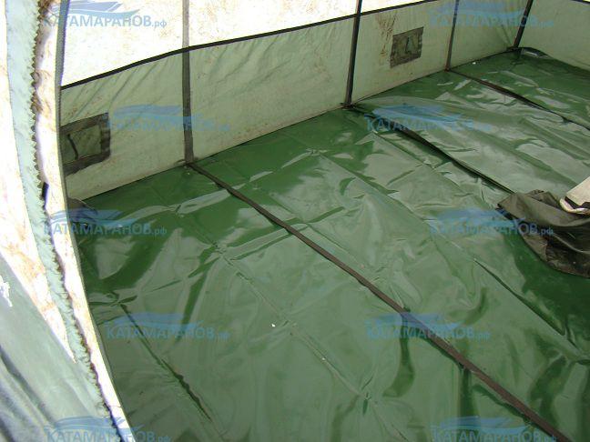Дополнительный ПВХ-пол серия 30, 40, 50  Дополнительный ПВХ-пол предназначается для палаток «Мобиба». Настил изготавливается из прочного материала ПВХ темно-зеленого цвета, и используется для утепления пола в зимнее время или осенне-весенний период.