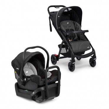 Joie Muze Travel System Stroller & Infant Carrier - Charcoal
