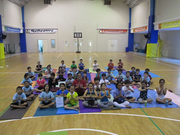 Year 4 yoga incursion