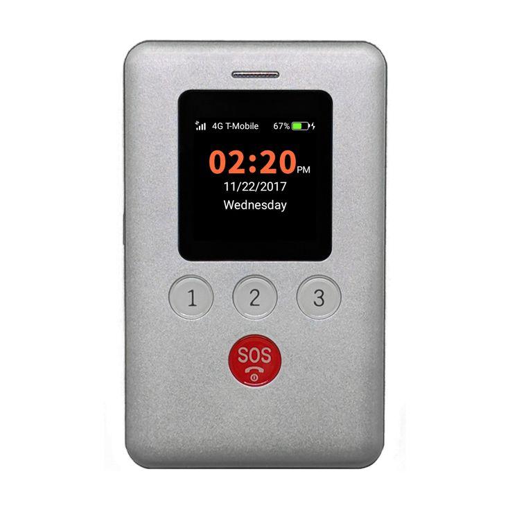 Kidsconnect kc2 4g gps tracker phone kids cell phone